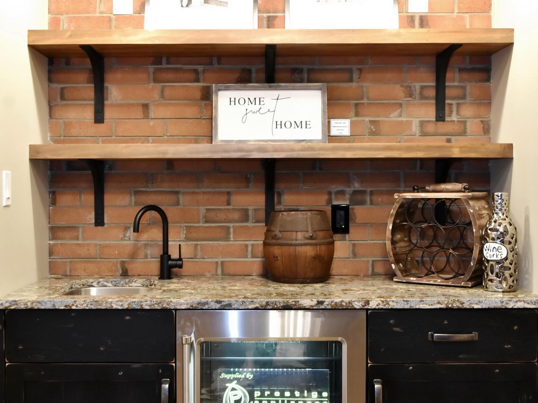 Matte Black Bar Faucet @ the 2018 Dream Home