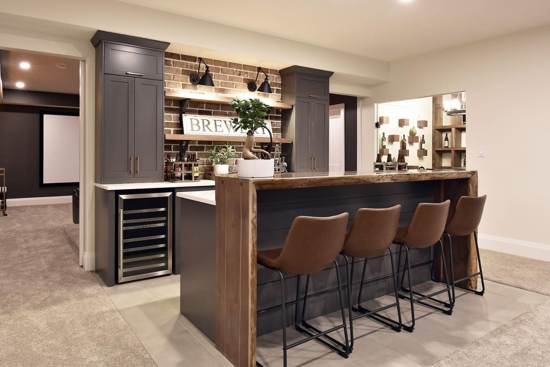 Matte Black Brizo Bar Faucet
