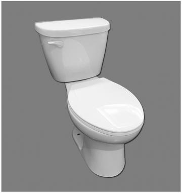 Mainline Elongated toilet