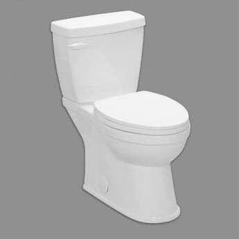 2pc skirted toilet