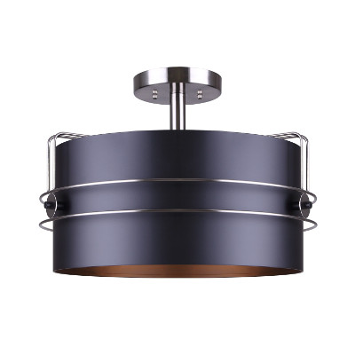 black drum pendant