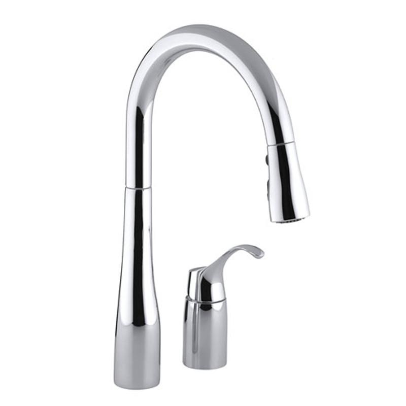 Remote handle faucet