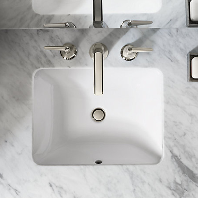 Kohler Rectangular undermount sink